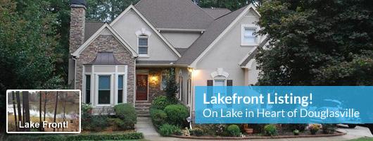 Douglasville Lakefront – Grace Lake Home